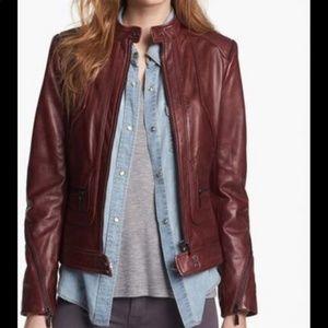 Jackets & Blazers - Brown leather jacket